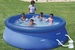 Summer Escapes 8 ft x 26 in Quick Set Pool with 600 GPH Pump