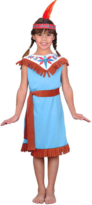 Child's Indian Dancer Girl Costume