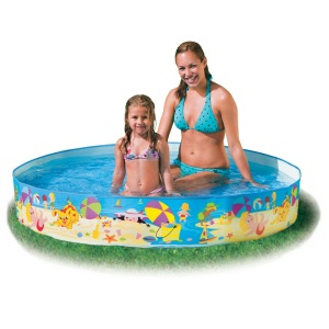 "Fill N Fun Snapset 60"" Diameter Kiddie Pool"