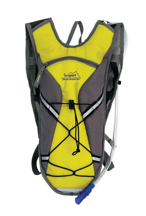 Brazos Hydration Pack (Color: Vibrant Yellow/Gray)