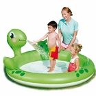 Inflatable Interactive Turtle Spray Kiddie Pool