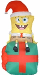Inflatable Spongebob Christmas