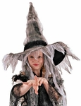 Adult Coffin Witch Hat