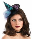 Blue Mini Witch Hat