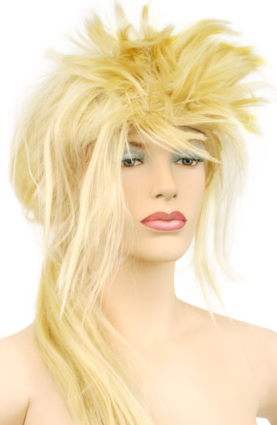 Adult Blonde 80's Style Wig