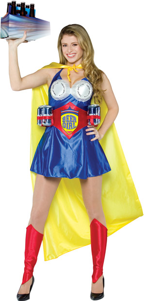 Adult Beer Girl Costume
