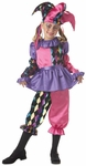Child's Colorful Jester Costume