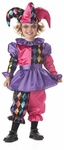 Toddler Harlequin Jester Costume