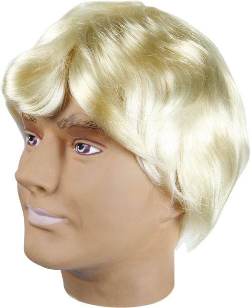 Blonde Johnny Wig