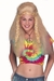 Blonde Hippie Chick Wig