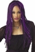 Twisted Long Purple & Black Wig