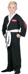 Child's Black Karate Ghi Costume