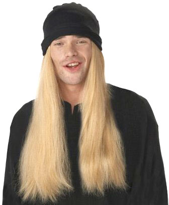 Men's Blonde Jay and Silent BobWig