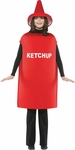 Adult LW Ketchup Bottle Costume