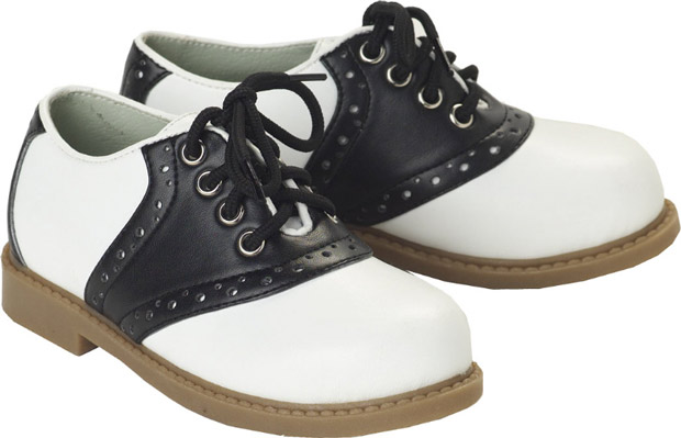 Toddler Saddle Shoes