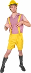 Bruno Yellow Lederhosen Costume