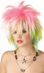 Women's 80s Punk Rock Wig