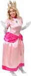 Adult Super Mario Brothers Princess Peach Costume