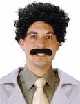 Borat Costume Mustache And Wig Set