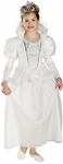 Child's Snow Queen Dress Costume