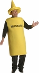 Plus Size Mustard Bottle Costume