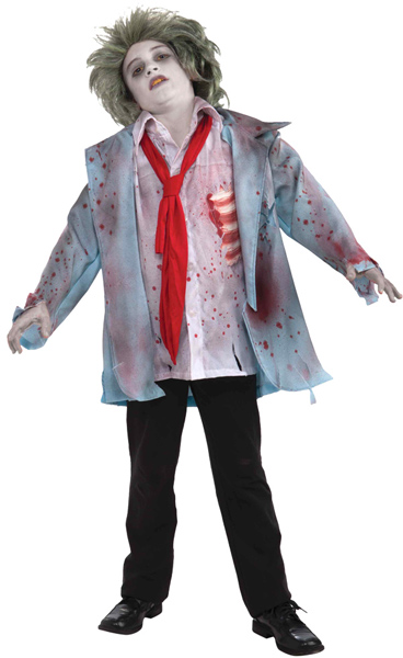 Child's Zombie Boy Costume