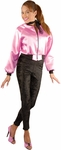 Adult Satin Pink Lady's Jacket