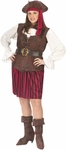 Plus Size High Seas Pirate Lady Costume
