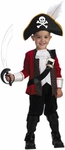 Toddler El Capitan Pirate Boy Costume