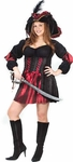 Women's Plus Size Stitch Pirate Costume