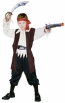 Child's Caribbean Pirate Boy Costume