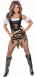 Sexy Caribbean Pirate Wench Costume