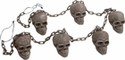 Skulls On A Chain Halloween Decoration