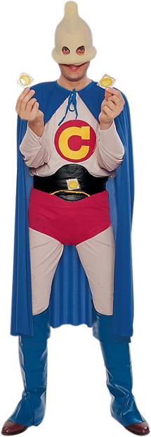 Adult Condom Man Costume