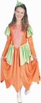 Child's Pumpkin Dress Princess Costume
