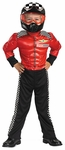 Child's Muscle Chest Race Car Driver Costume
