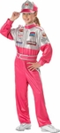 Child's Race Car Driver Girl Costume