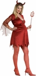 Adult Devil Dress Maternity Costume