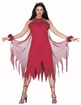 Adult Marabou Devil Costume