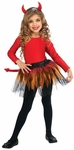 Child Devil Ballerina Costume