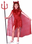 Child's Glamour Devil Costume