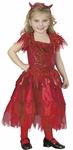 Girl's Toddler Devil Dress Costume