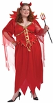 Womens XXXL Devil Costume