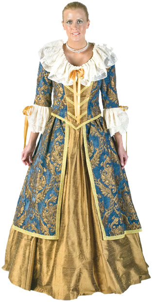 Marie Antoinette Theater Costume
