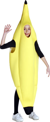 Child's Banana Costume