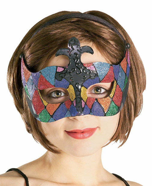Stained Glass Venetian Eyemask