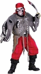 Adult Skeleton Pirate Costume