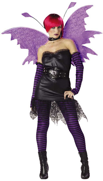 Adult Goth Fairy Costume