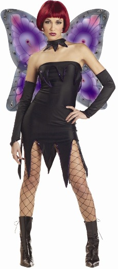 Adult Evil Pixie Fairy Costume