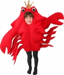 Child's Sebastian the King Crab Costume